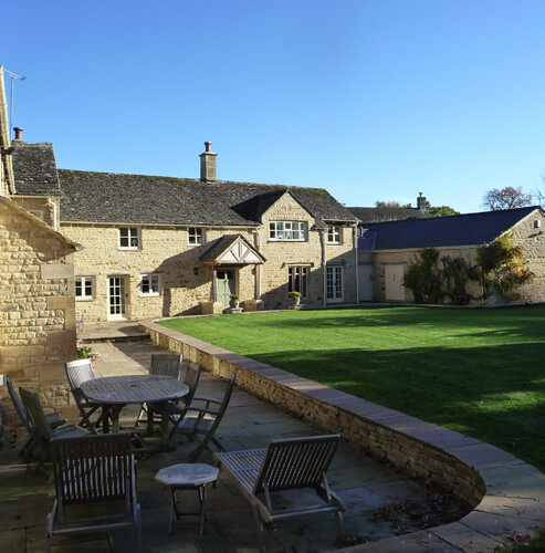 De Paris Restorations Cotswold Stone House